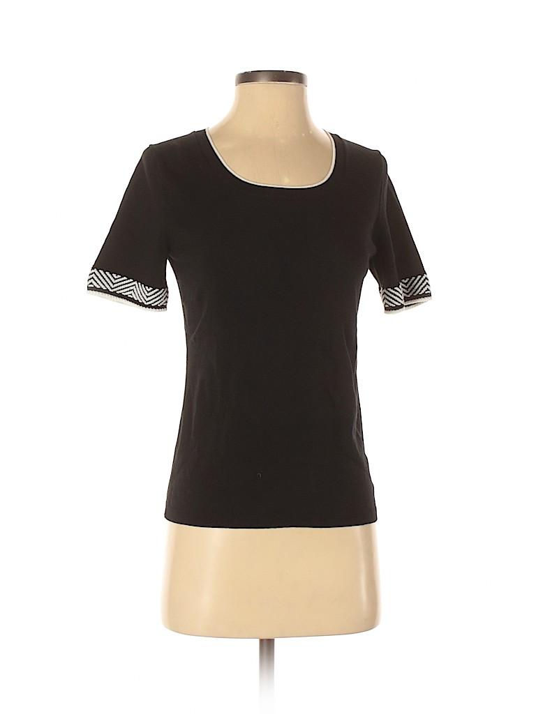 Ann Taylor Women Short Sleeve Top Size S