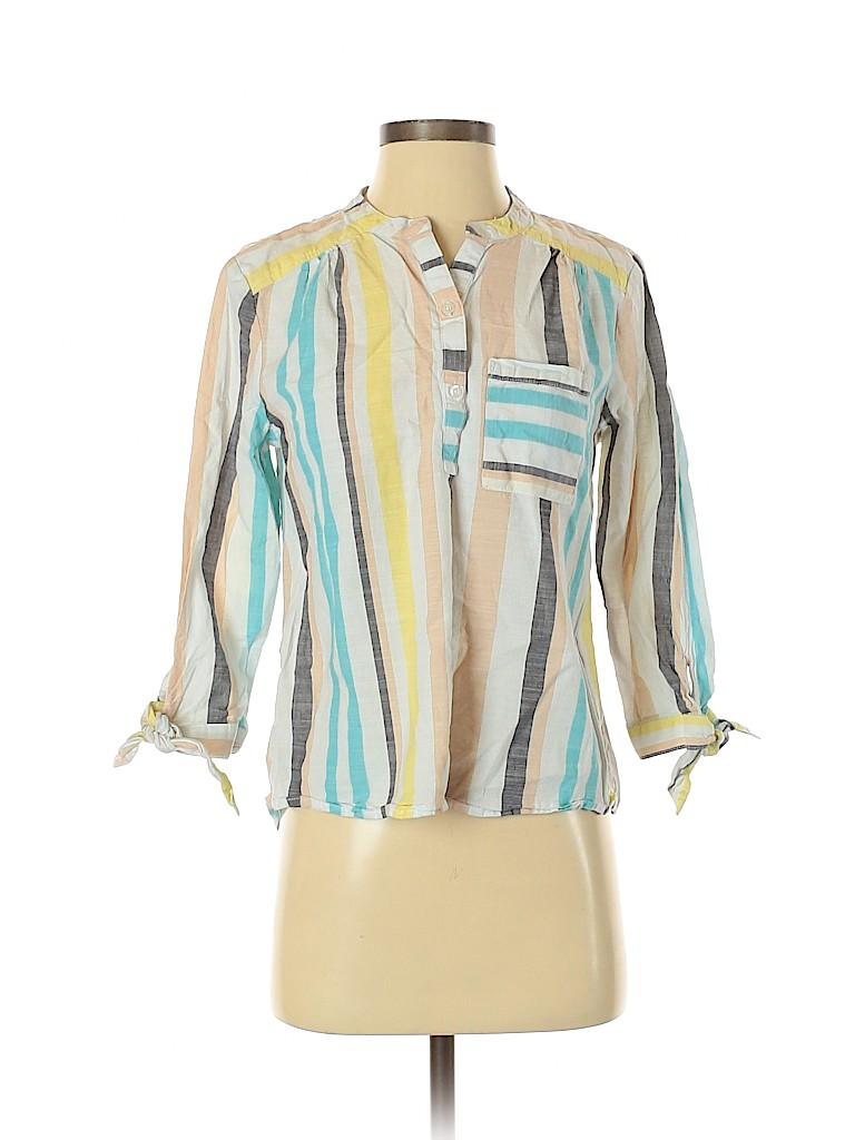 Marc New York Women Long Sleeve Blouse Size S