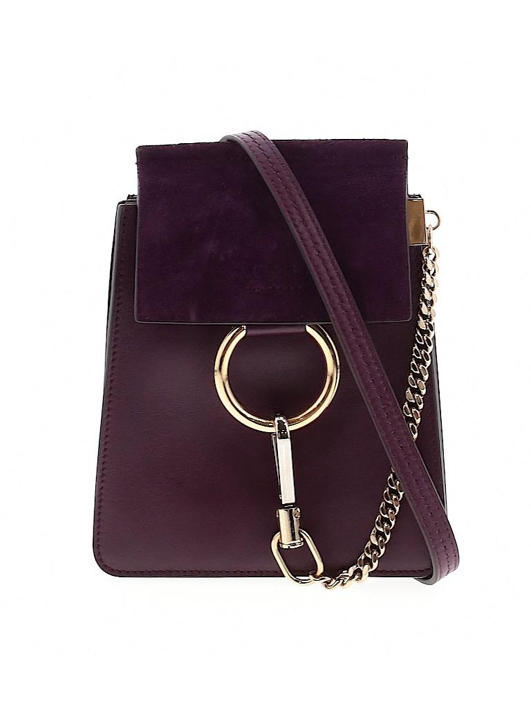 Chloé Women Leather Crossbody Bag One Size