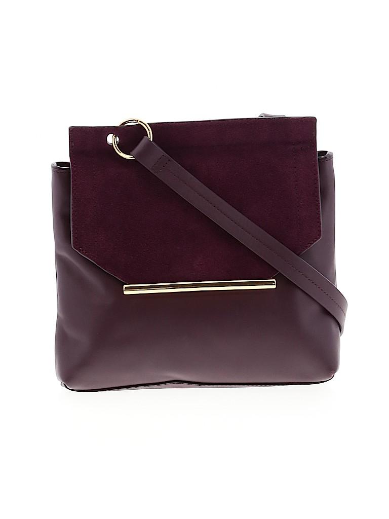 Halston Women Leather Crossbody Bag One Size
