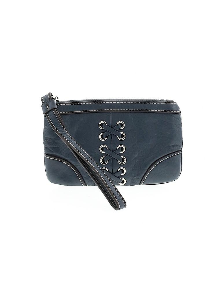 Nine West Women Leather Wristlet One Size