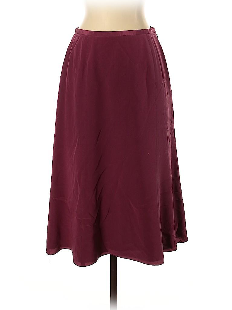 J. Crew Women Silk Skirt Size 0