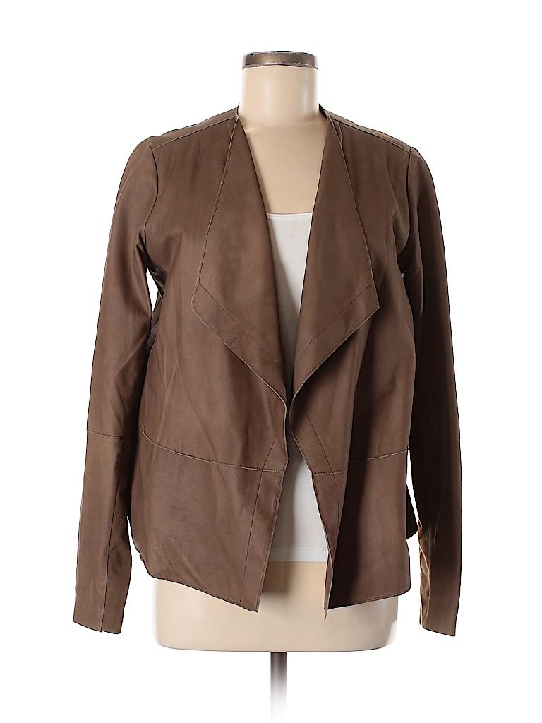 Vince. Women Leather Jacket Size M