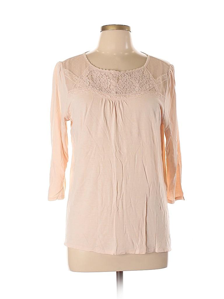 Ann Taylor LOFT Women 3/4 Sleeve Top Size XL