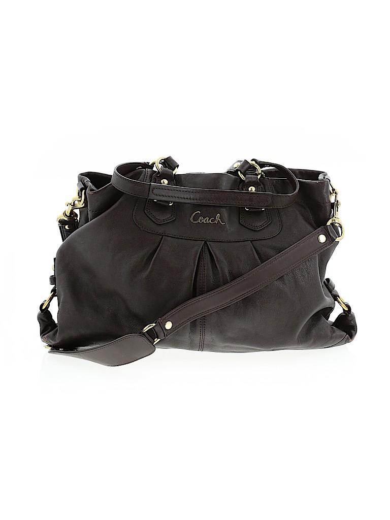 Coach Factory Women Leather Satchel One Size