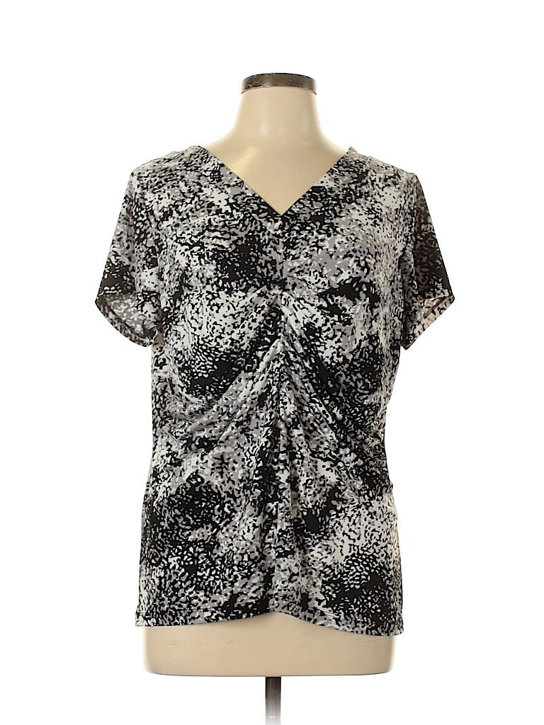 Alfani Women Short Sleeve Top Size XL