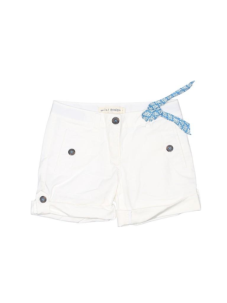 Mini Boden Girls Shorts Size 8