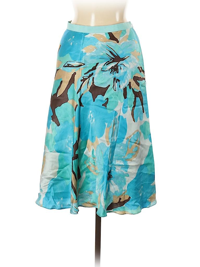 Banana Republic Factory Store Women Silk Skirt Size 10