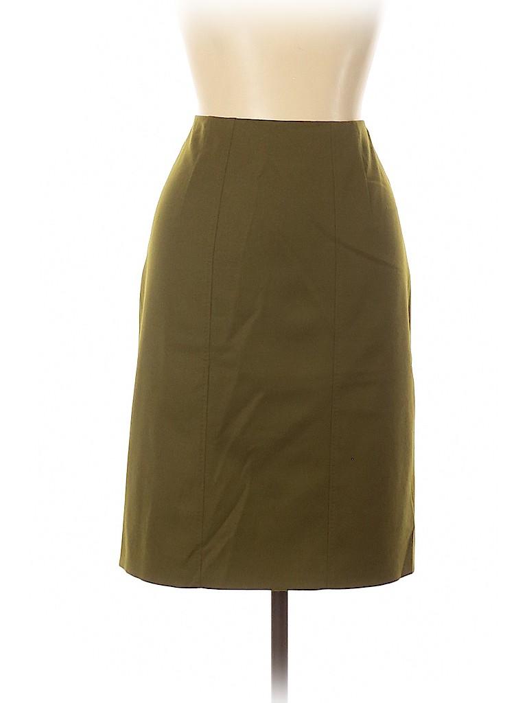 BOSS by HUGO BOSS Women Wool Skirt Size 10