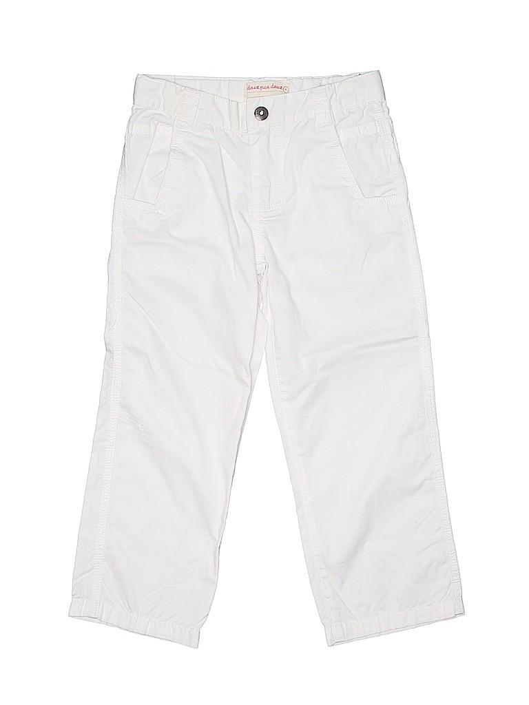 Deux Par Deux Girls Casual Pants Size 4T