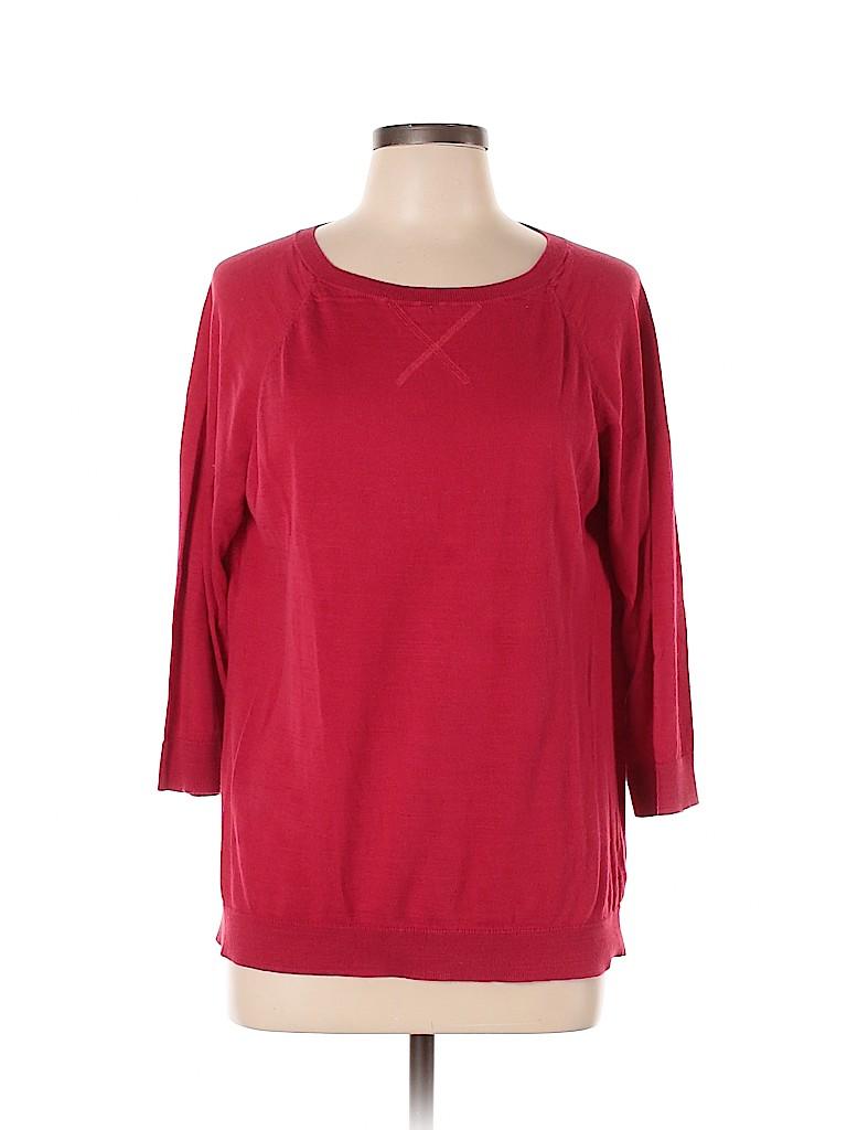 Talbots Women 3/4 Sleeve Top Size L