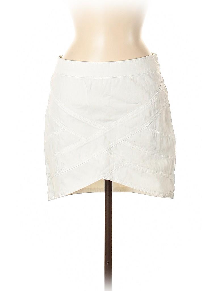 BCBGMAXAZRIA Women Denim Skirt 28 Waist