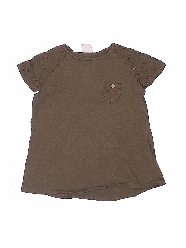 Zara Girls Short Sleeve Top Size 6