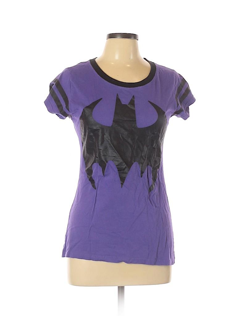Batman Women Short Sleeve T-Shirt Size L