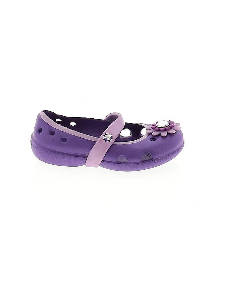 Crocs Girls Flats Size 5