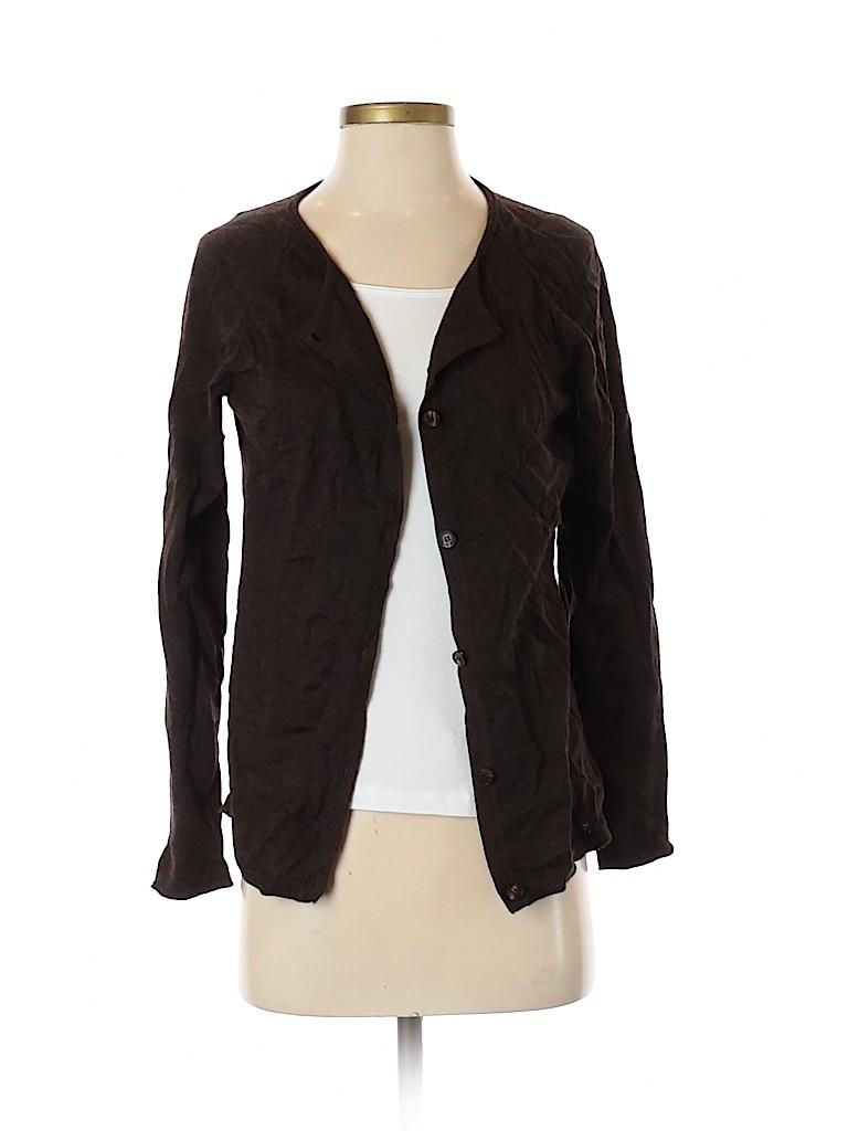 Lafayette 148 New York Women Wool Cardigan Size S