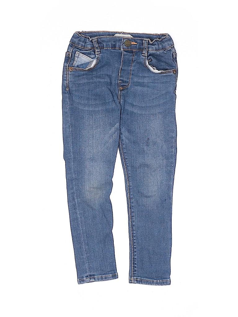 Zara Baby Boys Jeans Size 3T - 4T