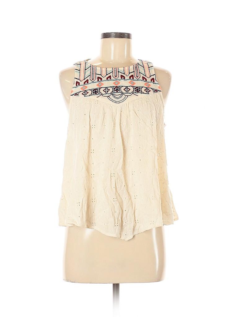 Hollister Women Sleeveless Blouse Size M