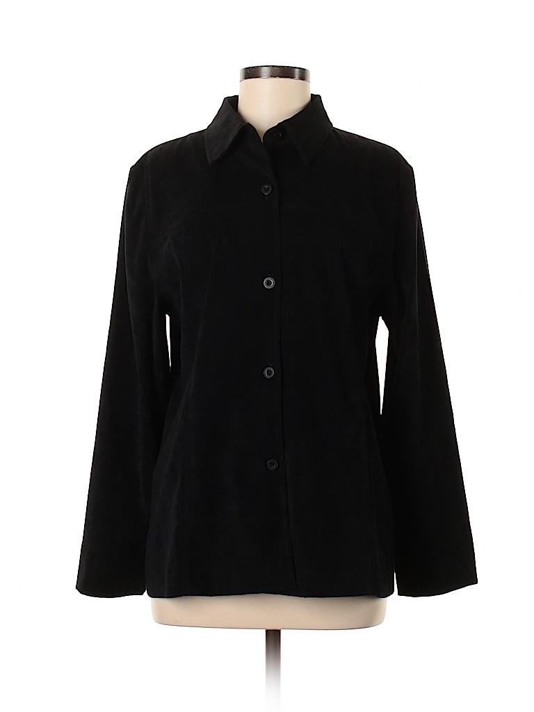 Norton McNaughton Women Long Sleeve Blouse Size 8