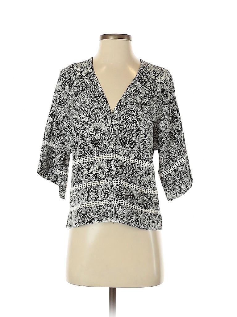 IRO Women 3/4 Sleeve Blouse Size 34 (FR)