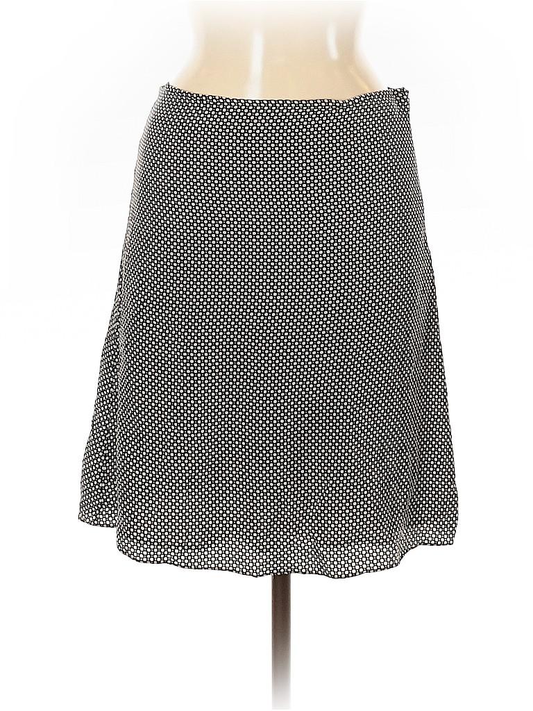 Mossimo Women Silk Skirt Size 8