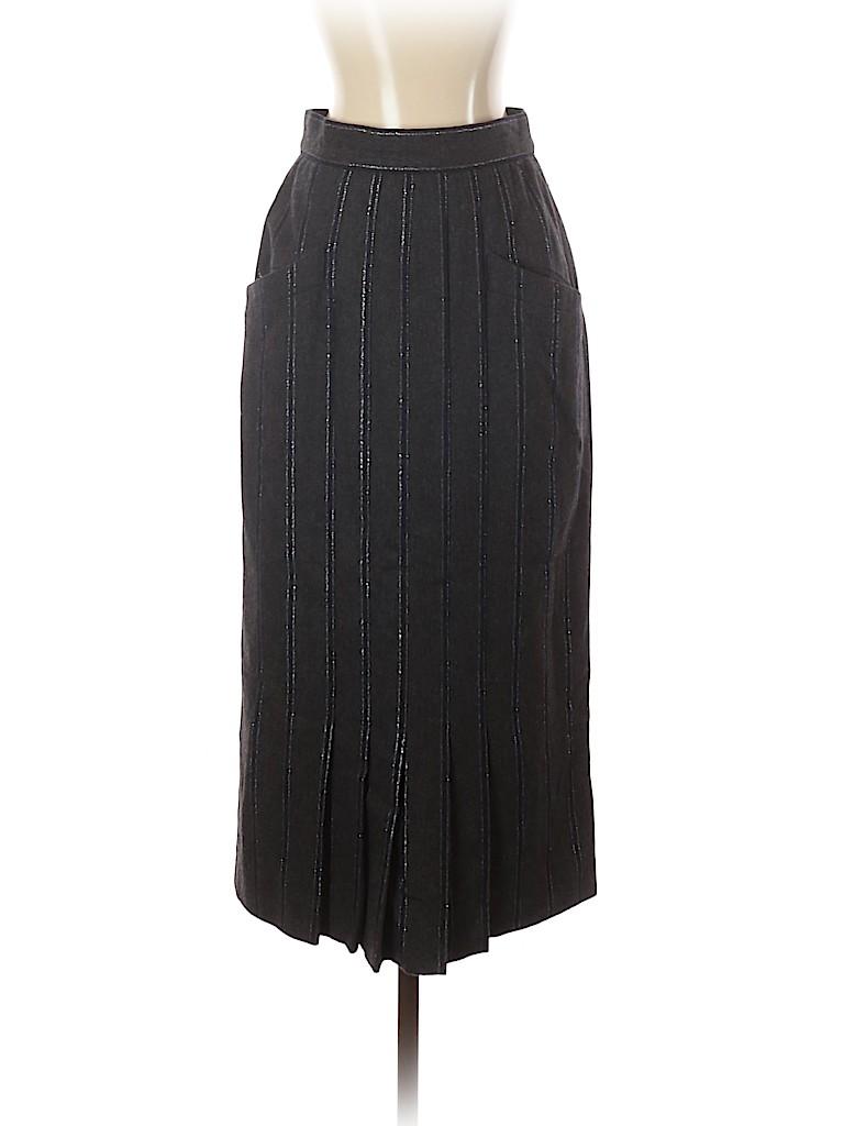 Escada by Margaretha Ley Women Wool Skirt Size 36 (EU)