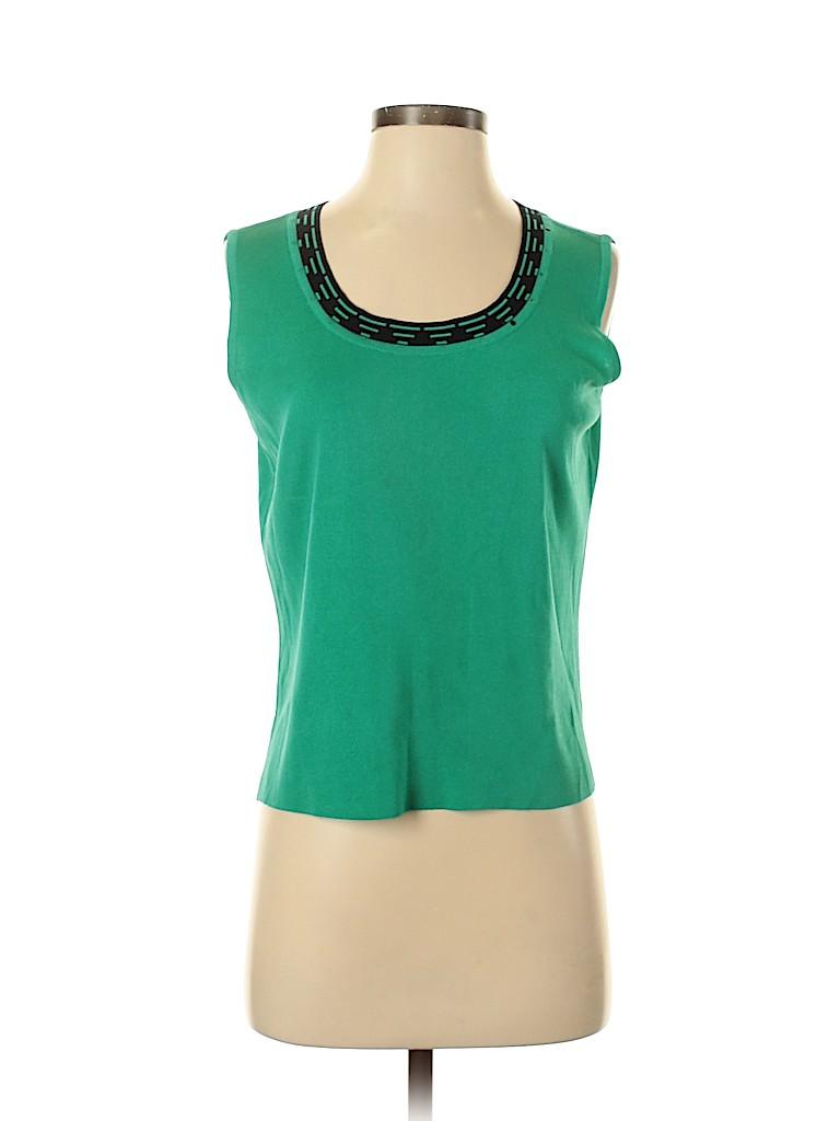 MING WANG Women Sleeveless Top Size S