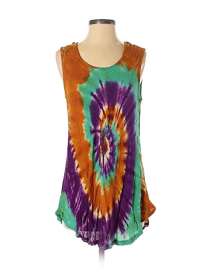 India Boutique Women Sleeveless Blouse One Size