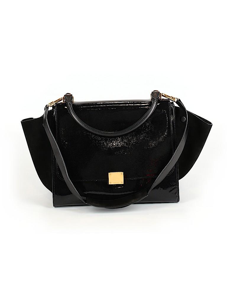Céline Women Leather Satchel One Size