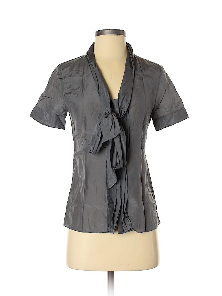 Banana Republic Women Short Sleeve Blouse Size 4