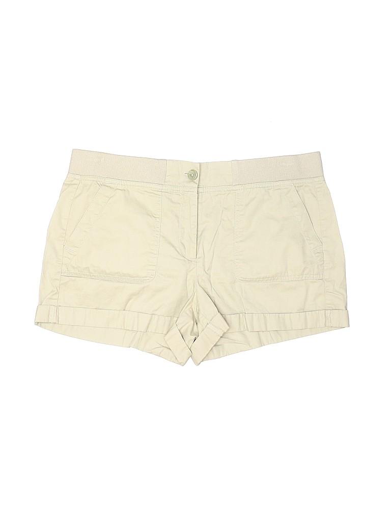 Ann Taylor LOFT Women Khaki Shorts Size 10
