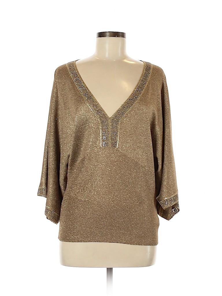 St. John Women 3/4 Sleeve Top Size M