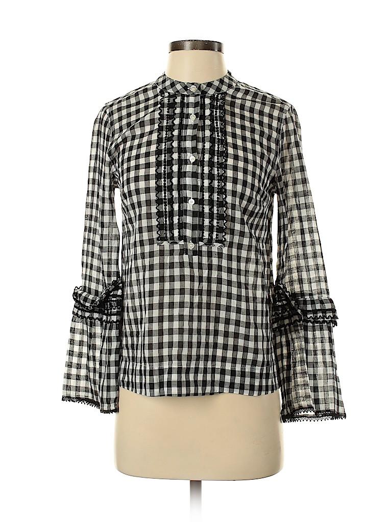 J. Crew Women Long Sleeve Button-Down Shirt Size 00