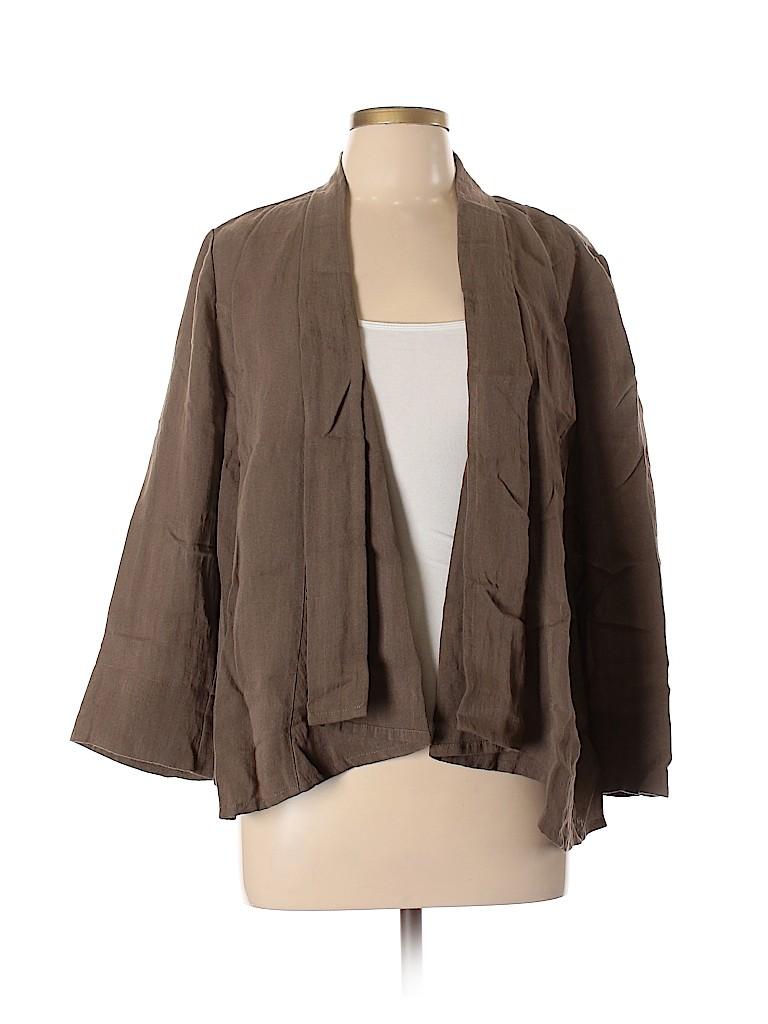 Chico's Women Cardigan Size Lg (2)