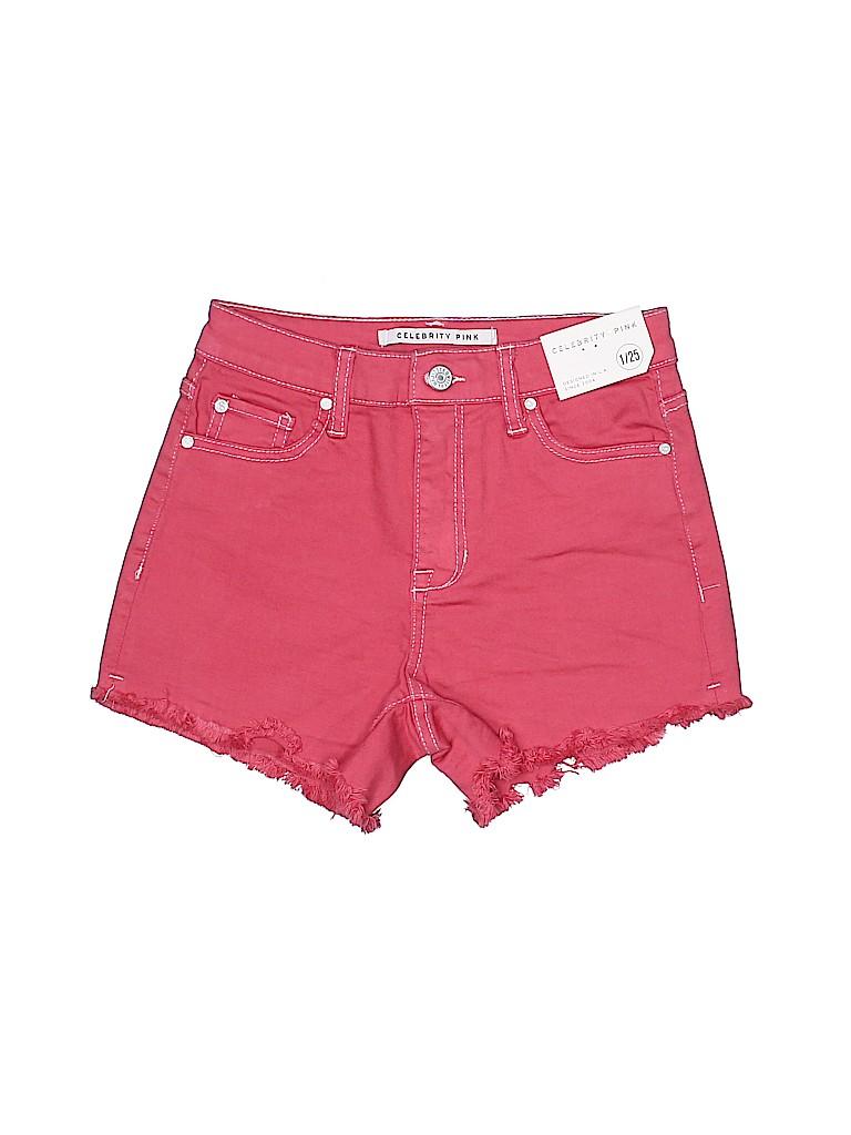Celebrity Pink Women Denim Shorts Size 1