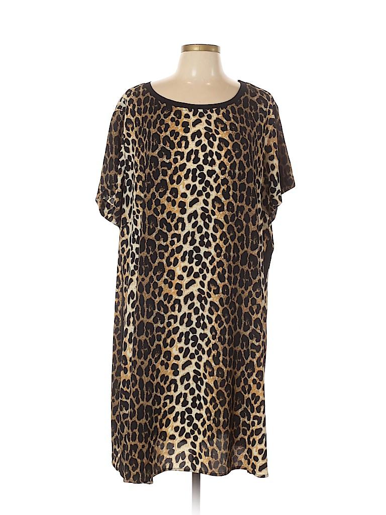 City Chic Women Casual Dress Size XL (Plus)