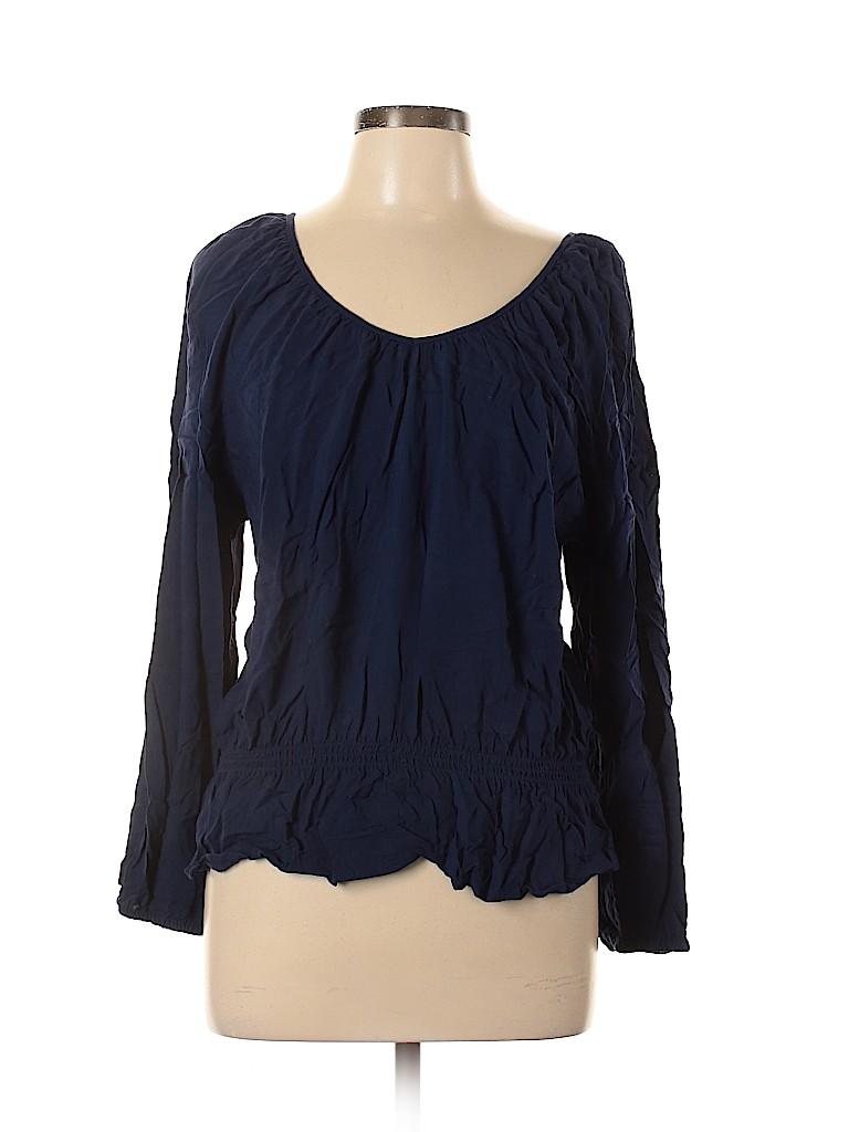 Faded Glory Women Long Sleeve Blouse Size XL