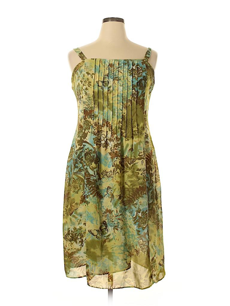 Sandra Darren Women Casual Dress Size 16