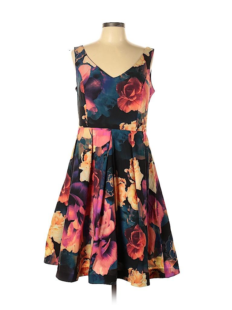City Chic Women Casual Dress Size 14 (Plus)