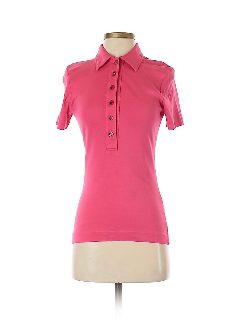Tory Burch Women Short Sleeve Polo Size S
