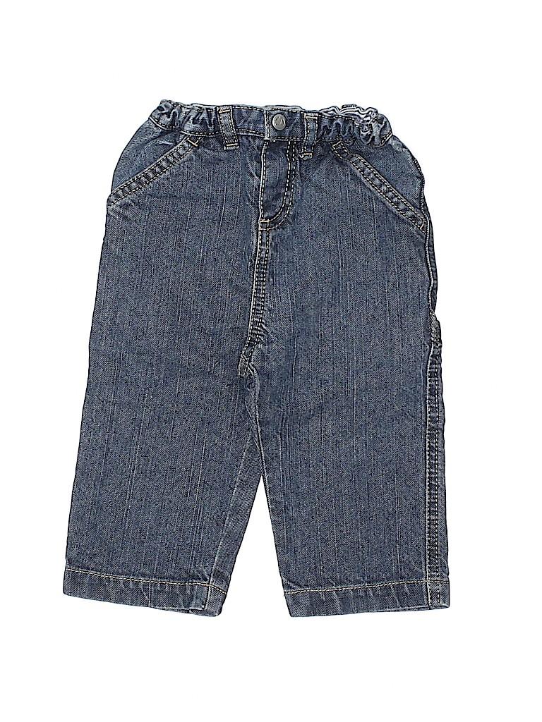 Petit Bateau Boys Jeans Size 12 mo