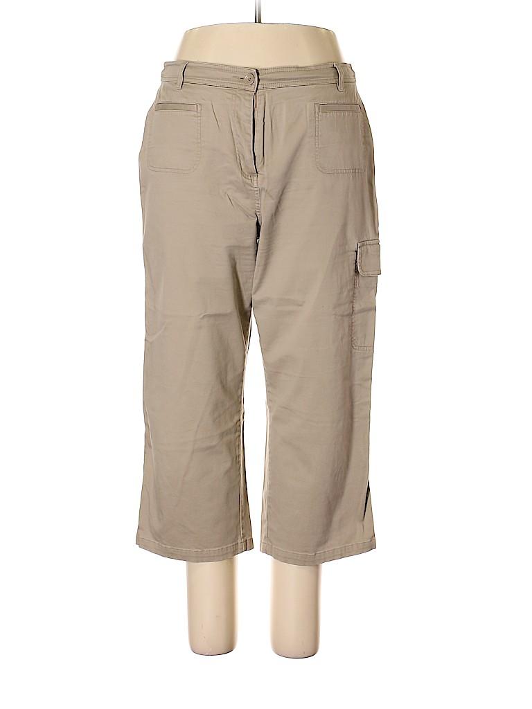 Croft & Barrow Women Cargo Pants Size 16