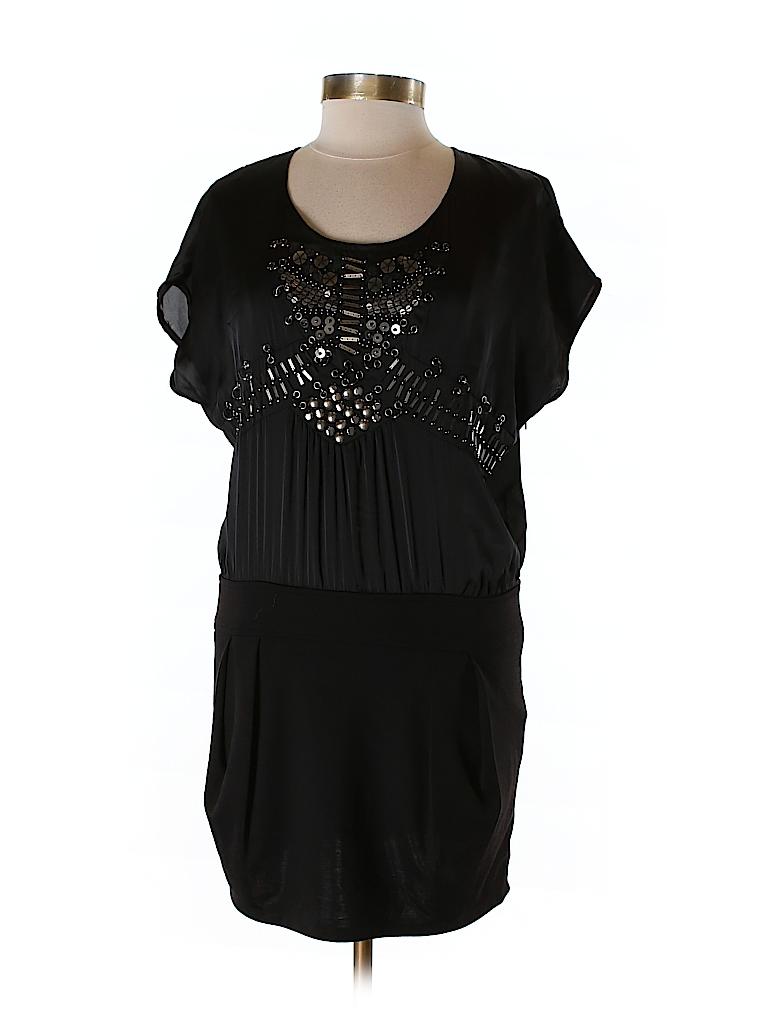 Black Women Cocktail Dress Size L