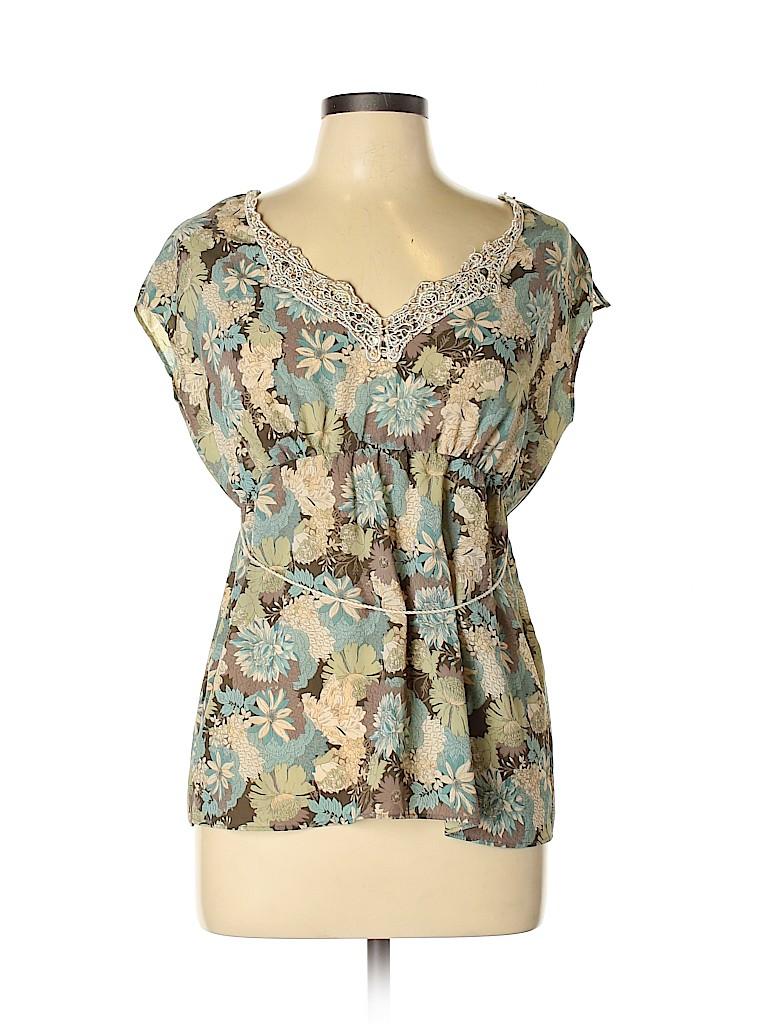 Axcess Women Short Sleeve Blouse Size 10