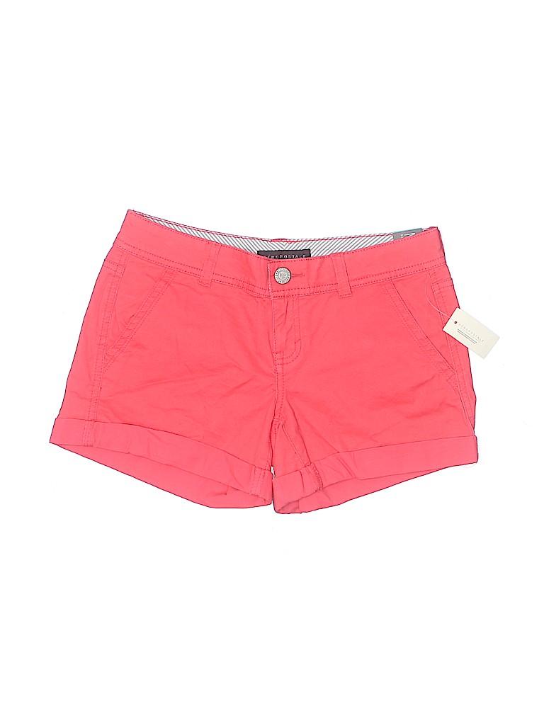 Aeropostale Women Khaki Shorts Size 0