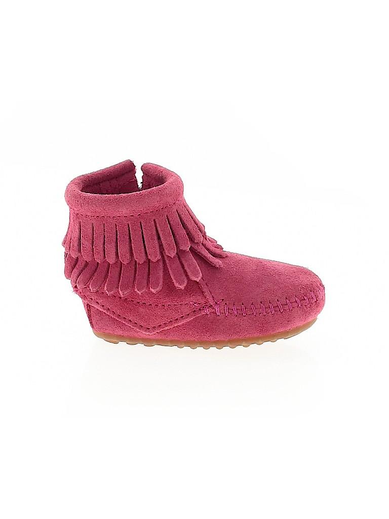 Minnetonka Girls Boots Size 2