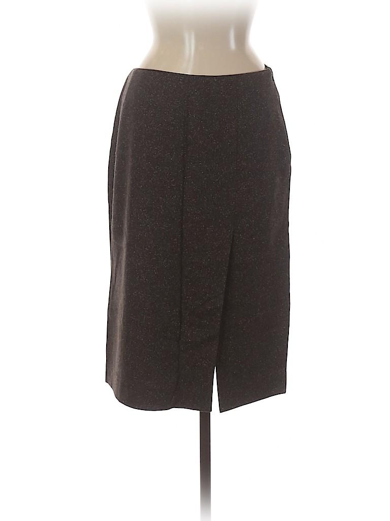 Armani Exchange Women Wool Skirt Size 8