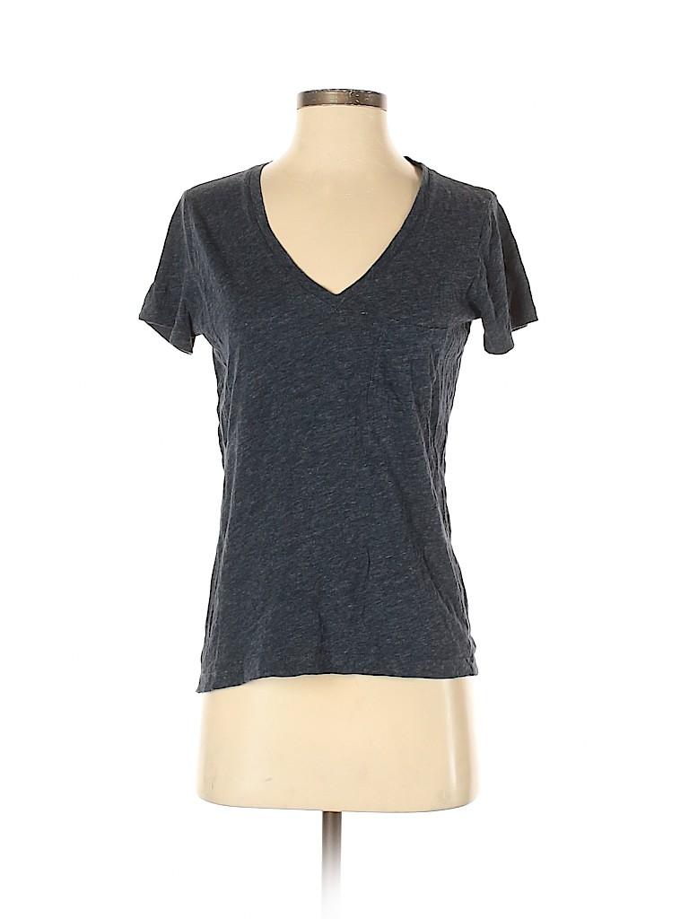 Madewell Women Short Sleeve T-Shirt Size XS