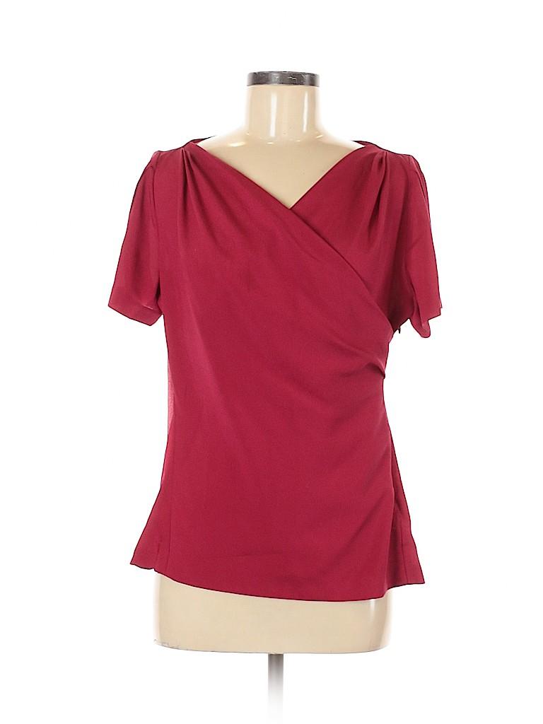 Banana Republic Factory Store Women Short Sleeve Blouse Size 8