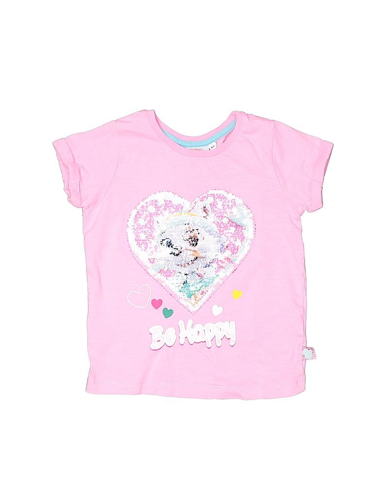 Nickelodeon Girls Short Sleeve T-Shirt Size 4 - 5